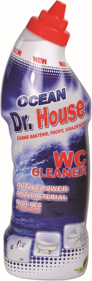 WC čistič 750 ml fresh ocean Dr. House -