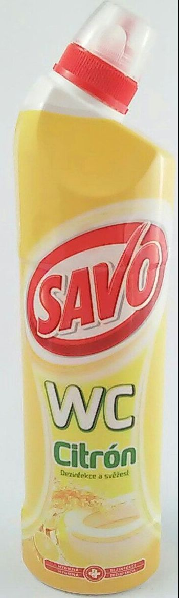 Savo na WC 750 ml citrón -