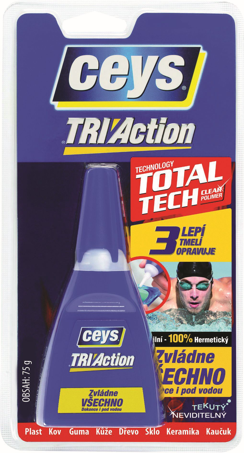 Lepidlo Ceys TRI Action Liquid 75 g -