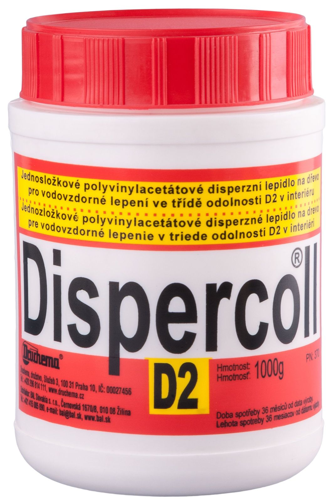 Lepidlo Dispercoll D2 1 kg -